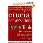 Book  - Crucial Conversations